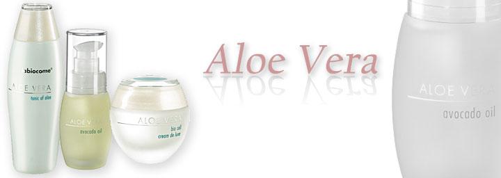Aloe Vera Kosmetik Produkte