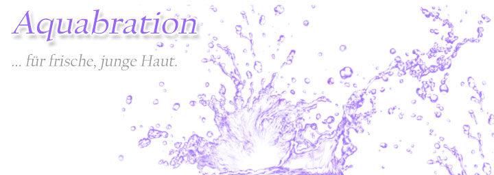 Aquabration Intesivbehandlung für frische und junge Haut