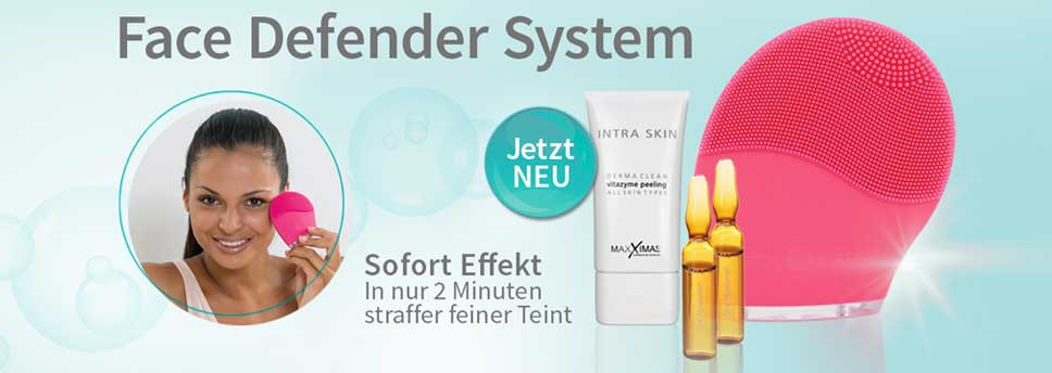 Face Defender Gesichtsmassage