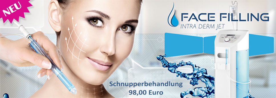 Face Filling - Intensive Behandlung