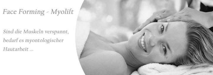 Face Forming Myolift - Bei verspannter Haut und Gesichtsmuskeln