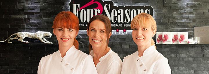 Das Team vom Kosmetikinstitut Four Seasons