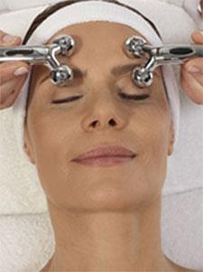 SCM Massage Behandlung für das Gesicht