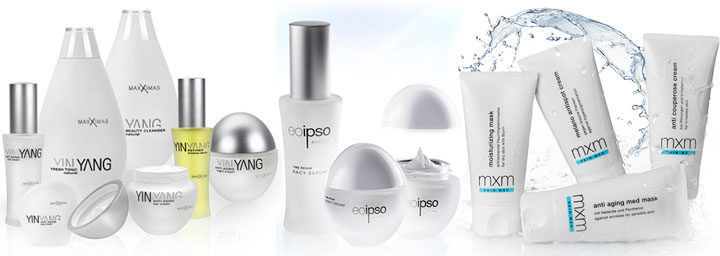Kosmetikprodukte und Pflegeprodukte Four Seasons