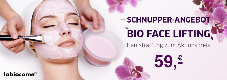 Schnupperangebot Bio Facelifting Magdeburg