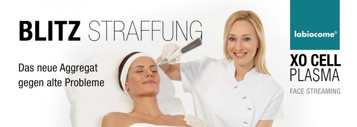 XO Cell Plasma Streamen - Behandlung zur Straffung des Hautzustandes